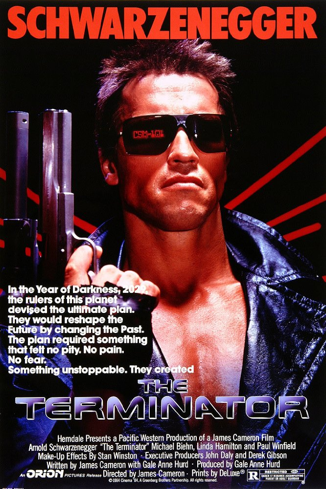 Astor: The Terminator + Rococop (1987)