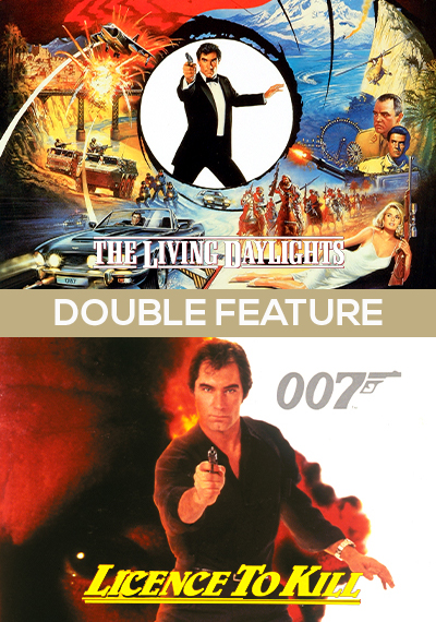 The Living Daylights + Licence to Kill